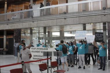 Grenoble Habitat porte plainte contre l'Alliance citoyenne. Alliance citoyenne réclame la démission d'Eric Bard