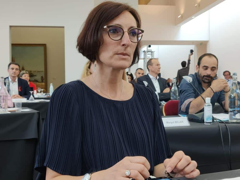 Maud Tavel, adjointe à la Tranquillité publique de la Ville de Grenoble © Corentin Bemol - Place Gre'net