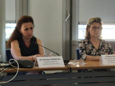 Covid: Monique Sorrentino et Marie-Thérèse Leccia