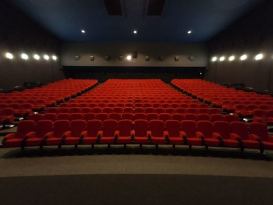 Pathé Chavant Salle de cinéma vide