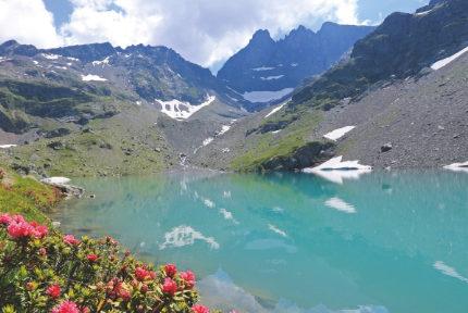 Une Couverture Lacs de l'Isère Roger Hémont Glénat