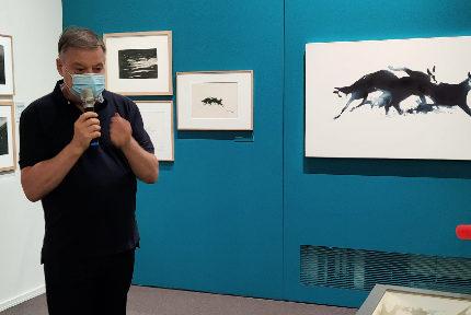 Exposition Eric Alibert Calligraphie alpinesEric Alibert