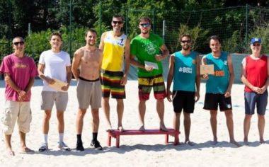 Champions de beach volley Aura 2020