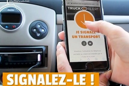 Truck alert, une application pour signaler les transports d'animaux par temps de canicule