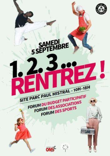 Trois forums à Grenoble samedi 5 septembre © Ville de Grenoble