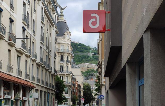 Le logo de l'Adie à Grenoble © Florent Mathieu - Place Gre'net