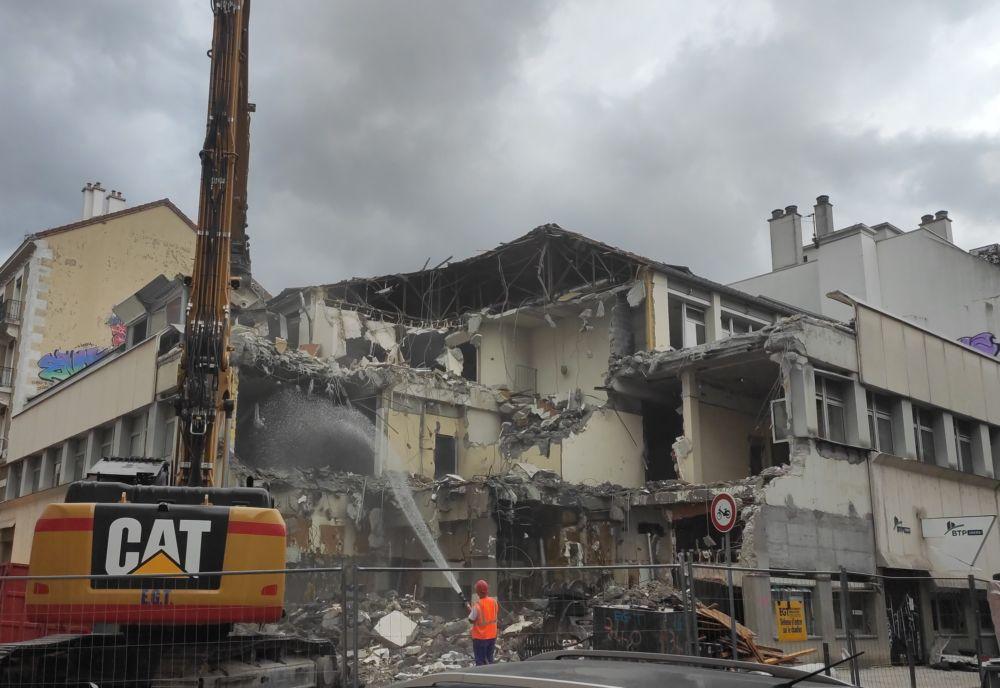 La construction compte parmi les secteurs ayant le plus fait appel au Fonds de solidarité durant le premier confinement © Florent Mathieu - Place Gre'net