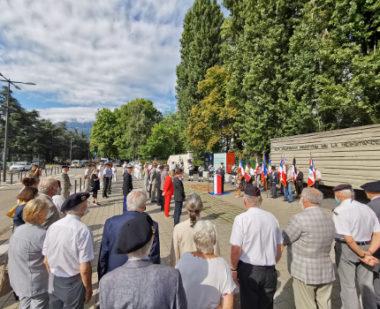 Commémoration de la libération de Grenoble. © Joël Kermabon - Place Gre'net