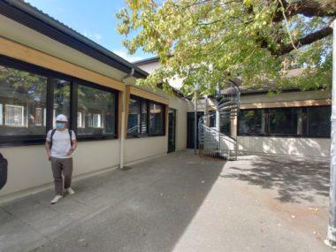 Cour de l'école maternelle Ampère