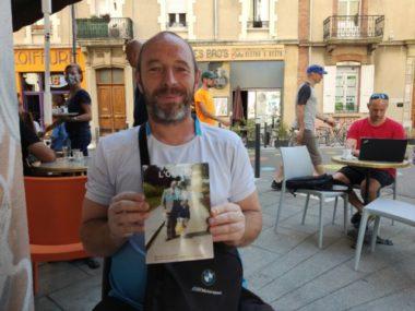 Michaël Allegre, SDF, a écrit et publié l'année dernière son premier livre autobiographique