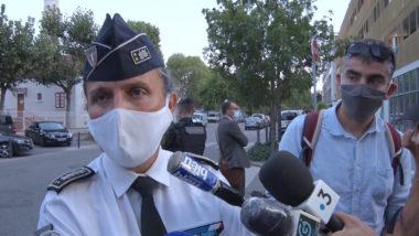 Mistral : opération de police après la vidéo virale de dealers Fabienne Lewandowski, directrice de la DDSP de l'Isère. © Joël Kermbon - Place Gre'net