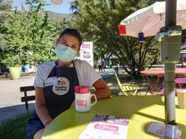 Suzanna Morais, coordinatrice de l'événement au sein de l'association Tout le monde contre le cancer