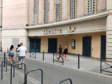 Grenoble : réouverture du TMG après des mois sans public.Théâtre de Grenoble