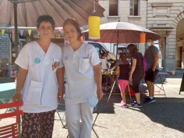 Veronique Leprettre, éducatrice de jeunes enfants et Marie-Laure Malezieux, cadre de santé - CHU Grenoble