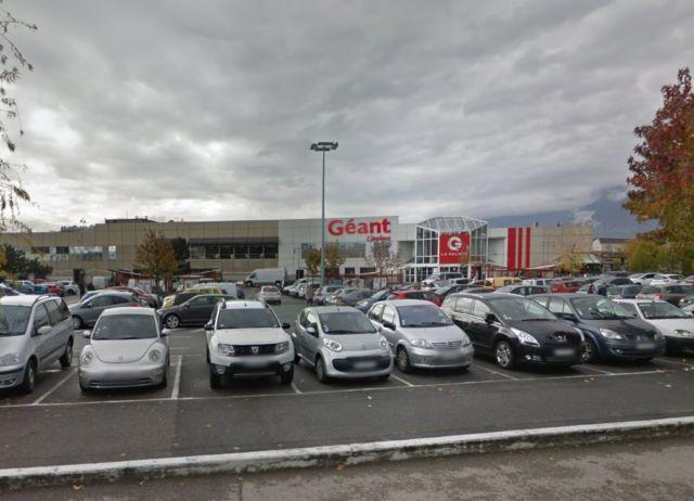 Géant Casino de Saint-Martin-d'Hères. © Google Maps