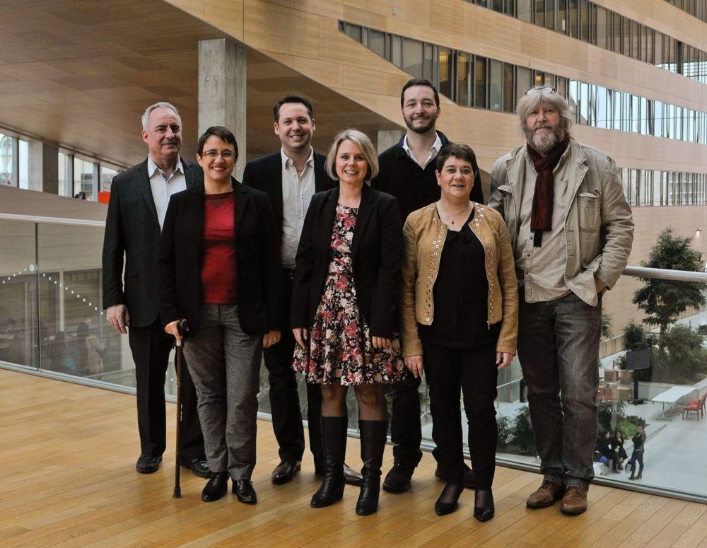 Les élus du groupe du PCF de la Région Auvergne-Rhône-Alpes © Facebook - L'Humain d'abord