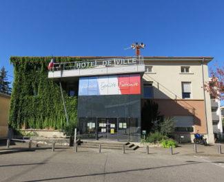 COUV Mairie de Chasse-sur-Rhône DR