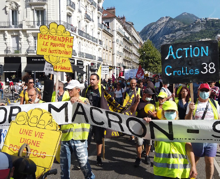 Personnels de la Ville, Retraités, Gilets Jaunes... un mardi 17 novembre riche en rassemblements à Grenoble