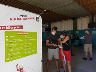 Budget participatif de Grenoble : un palmarès très écolo.Forum des idées 2020 © Séverine Cattiaux - Place Gre'net