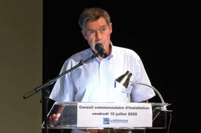 Henri Baile, président du Grésivaudan.