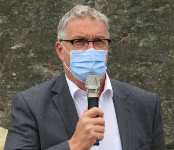 Jean-Pierre Barbier, président du Département de l'Isère. © Tim Buisson - Place Gre'net.