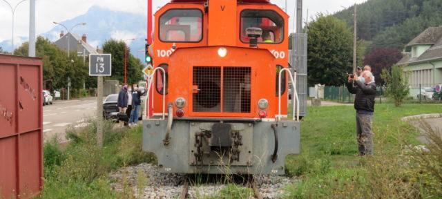 Le petit train de la Mure. © Tim Buisson - Place Gre'net.