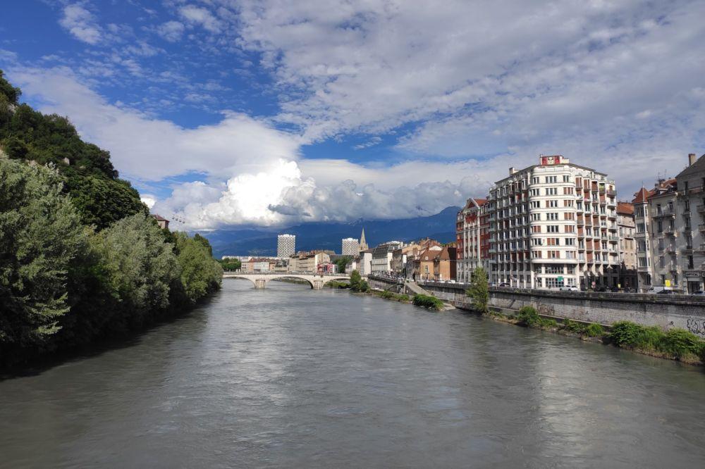 La rivière Isère est en situation de vigilance © Florent Mathieu - Place Gre'net