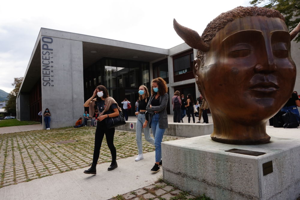 """Pour l'association En tout genre, Sciences-Po Grenoble ne prend pas la mesure de la """"culture du viol"""" ou de la lutte contre les violences sexistes et sexuelles. © Simon Marseille - Place Gre'net"""