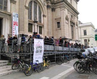 Vente de livres, BD et revues de la Bibliothèque municipale de Grenoble les 25 et 26 septembre