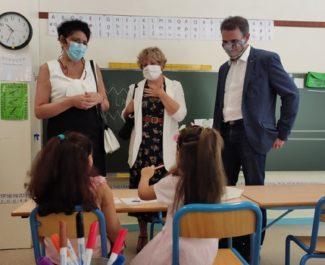 """Rentrée scolaire : la rectrice de l'académie de Grenoble vante une """"énergie pédagogue innovante"""""""