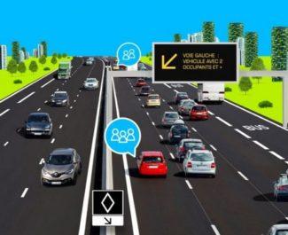 La voie réservée au covoiturage sur l'A48 est officiellement ouverte à compter du 28 septembre