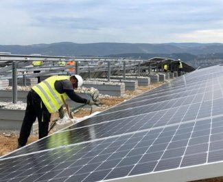 GEG partenaire pour la construction d'une centrale photovoltaïque à Portes-les-Valence