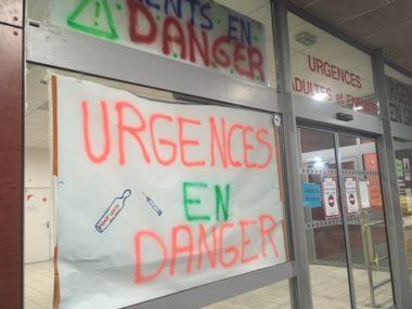 AU CHU de Grenoble comme à l'hôpital de Voiron, le personnel des urgences n'en finit pas de tirer la sonnette d'alarme © Patricia Cerinsek