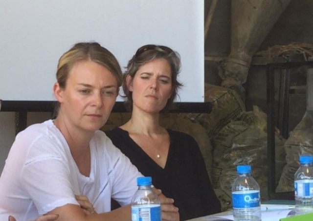 Élodie Jacquier-Laforge et Cendra Motin contestent les propos du Département © FDSEA