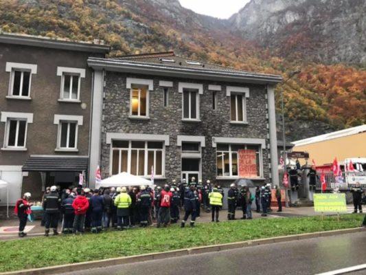 Trois usines FerroPem pourraient fermer en Isère et Savoie. L'usine de FerroPem aux Clavaux à Livet-et-Gavet. © – Place Gre'net
