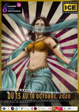 Affiche du Grenoble Indian Film Festival © Indian Cinema Events