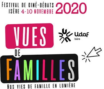 "Affiche du festival ""Vues de Familles"" © Udaf 38"