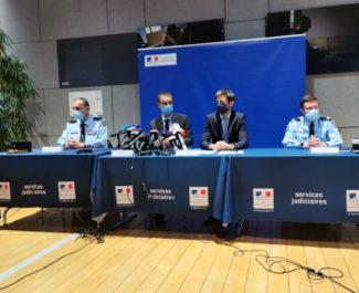 Conférence de presse de ce jeudi 15 octobre sur les avancées de l'enquête concernant le meurtre de Victorine Dartois. © Joël Kermabon - Place Gre'net