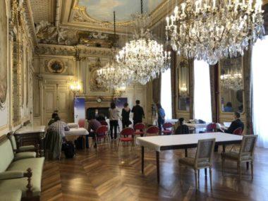 Conférence de presse à la préfecture de l'Isère sur les mesures contre le coronavirus © Laure Gicque
