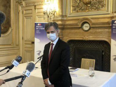 Urgence sanitaire : les nouvelles mesures réglementaires Lionel Beffre, préfet de l'Isère © Laure Gicquel
