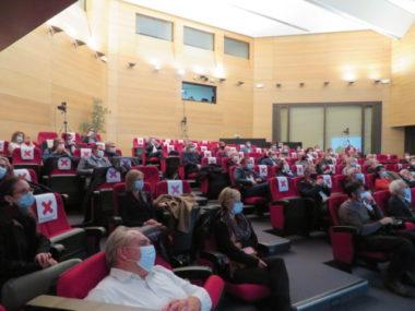 Les 18e trophées du rotary club avaient lieu à la CCI de Grenoble. © Tim Buisson – Place Gre'net