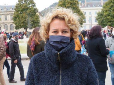 Emilie Chalas, députée La République en Marche de l'Isère. © Tim Buisson – Place Gre'net