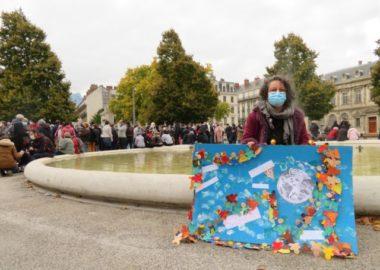 Stéphanie Pignon, enseignante en maternelle à Rives-sur-Fur (Isère). © Tim Buisson – Place Gre'net