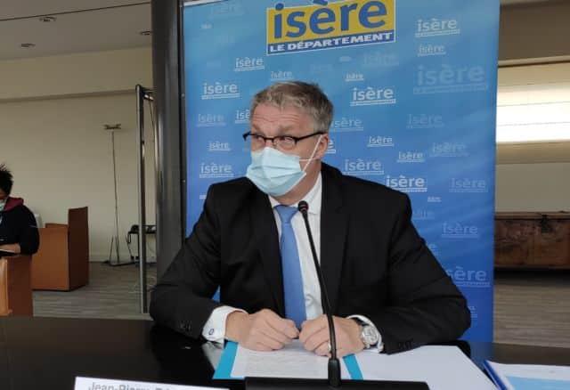 """Jean-Pierre Barbier redoute une """"dangereuse crise sociale"""" avec le reconfinement © Florent Mathieu - Place Gre'net"""