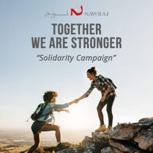 Affiche de l'association Nawraj. © Nawraj