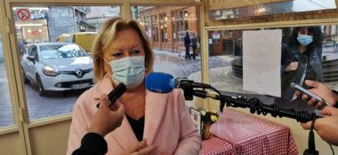 Danièle Chavant, présidente Umih Isère. © Joël Kermabon - Place Gre'net