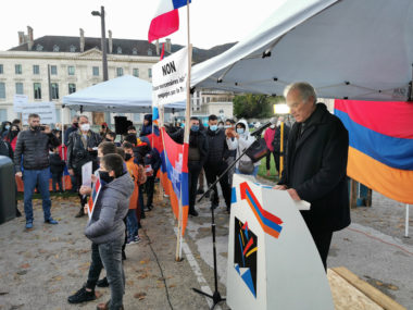 Daniel Marandjian, président de la Maison de la culturearménienne de Grenoble et du Dauphiné. © Joël Kermabon - Place Gre'net