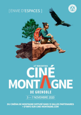 L'affiche des 22e Rencontre ciné montagne. © Ville de Grenoble