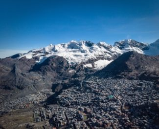 La ville de La Rinconada © Axel Pittet - EXPEDITION 5300