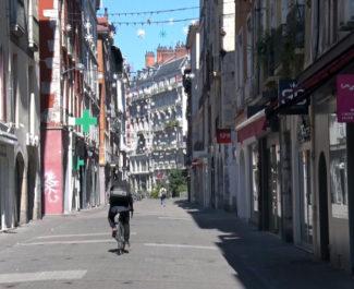 Grenoble à nouveau confinée. © Joël Kermabon - Place Gre'net